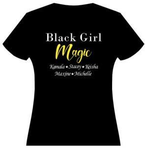 """Magic"" is gold glitter"